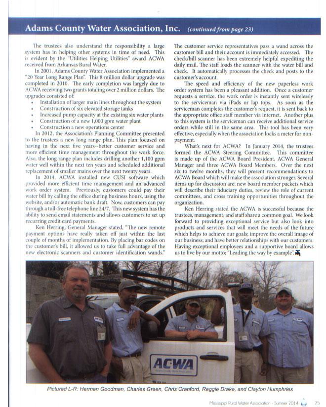 Rural Water Association Magazine P3